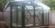 Build Your Own Greenhouse / Get as creative as you want building your own greenhouse with our polycarbonate sheets