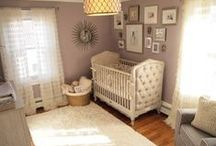 Baby Nurseries / Inspiration, tips and resources to help expectant moms and dads plan, organize and decorate the perfect baby nursery. / by Birth Memoirs