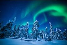 Aurora Borealis, Northern Lights... / Aurora borealis. northern lights, fox fires, celestial lights / by Pitsit sekaisin