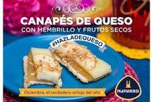 Pequeños Placeres / Snacks, aperitivos, entradas y otros gustitos ricos preparados con Quesos NAVARRO.