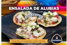 Platillos saludables / ¡El lado saludable! Prepara frescas y deliciosas ensaladas con Quesos NAVARRO.