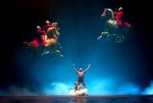 Cirque du Soleil... / World of astonishing fantasy and technical skills / by Pitsit sekaisin
