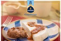 Panela en salsa de Cacahuate / #ToqueNavarro