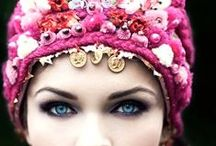 Turbans, Tiaras and Shawls / From hippy, to boho to modest street style turbans and shawls. The best looks compiled here for you and I to test, try and take it on the road! XOX SEA-Citizen Style