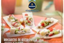 Montaditos de jícama y surimi / #ToqueNavarro