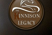 The Kinnison Legacy Trilogy / Meet the rugged men of the Kinnison Legacy and the women who will tame them!