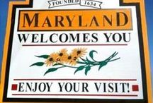 Historic Maryland / Maryland is a tiny state with a LOT packed into it.  Dating back to the founding of our country, it was the setting for much of our History.