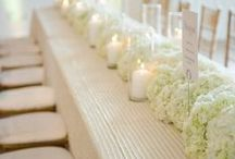 Centerpieces / Beautiful and glamorous centerpieces for your luxury wedding