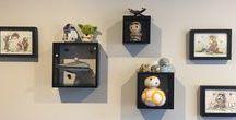 Quinn's Star Wars themed Nursery / A Star Wars themed small room / nursery