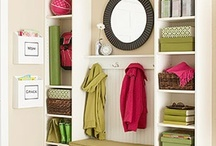 For the Home / Tips for organizing different stuff in our home.