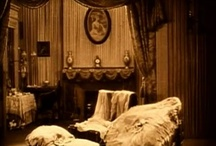 Obscure Hollow Blog Haunted Decor / Haunted Decor, ghostly corners and old horror film grabs of wicked sets