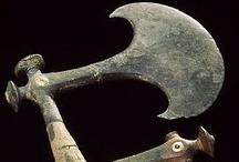 Axe, Knife and Sword