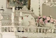 "Shabby Chic / I love shabby chic and wish my whole house was decorated like that.  It is so cozy, and warm, and peaceful.  What you will see are closely related to what I have pinned on my ""Elegance and Loveliness"" board.   / by Courtney Ricker"