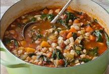 Soups and other comfort foods