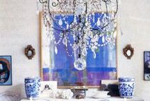 I have the cosy, happy blues :-) / Blue is my favorite.  At this moment I'm decorating my new home.