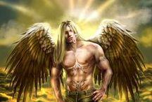 Fantasy ● Angel ● Light ● Male