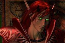 Fantasy ● Elf ● Blood ● Male