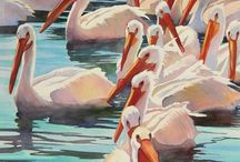 Miscellaneous Pelicans / Pelicans in nature: photography, painting, design, etc.  See also Collectible Pelicans, pelicans on my collection. / by Mayra Nemeth
