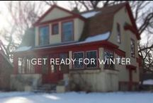 Home Winterization Tips / How to make your home warm and cozy this winter.