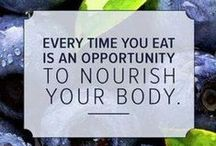 Nutrition & Health Inspiration / Because it's 50% nutrition & 50% fitness (to me).