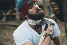 Rugged: the Real Lumberjack. / Otherwise known as the LumberSexual.  He's outdoorsy, he's a man with a big... Axe. And he's the hero in at least one of my books.