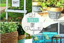 Outdoor DIY Projects / DIY tips and tricks to get your home ready for spring!