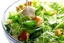 Stunning Caesar Salad / Because who doesn't want an entire board full of caesar salad?