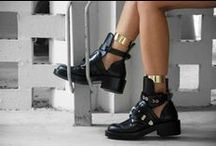 Cut-Out / Cut-out has become a major trend over the years and not only on the beach with strappy bikinis. Balenciaga made cut-out ankle boots popular on the street style scene. Since then, even cut-out jeans made their big entry, after head-turning bodycon  dresses spiced parties up worldwide.