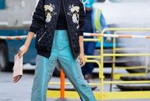 Bomber Jackets Go With Everything / Channel your inner blogger in a stylish bomber jacket, it's the best way to add edge to your outfit. Whether you choose a cropped cut or boyfriend fit, the effortless style looks great with a dress if you want to go with a girly twist, or pair it with a top and boyfriend jeans to go all out on the 90s style.