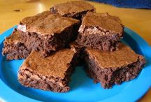 Recipes--Brownies / All kinds of brownies.  I make the mix a lot and always have it on hand.  They are great and easy to make. / by Courtney Ricker