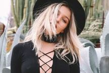 """Lace-Up Details / Have you heard? The """"it"""" sweater of the season is a V-neck, lace-up sweater. It's clear that lace-up details make anything and everything better: jumpsuits, bodysuits, shoulder bags, denim jeans, boots... the options are endless. Be sure to add lace-up details to your look. Try it! You might see what all the rage is about."""