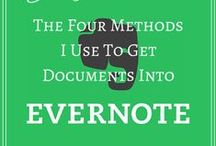 Evernote / Ideas and examples of using Evernote at home, in business, at school