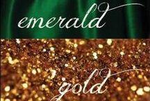 Jewel Tones: Emerald & Gold