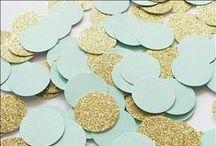 Rustic Tones: Sage Mint Gold