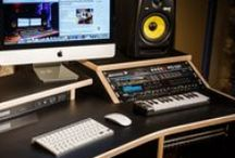 Minimaster - StudioRacks /  Studio Desks from StudioRacks- Black