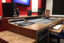 Avid C24 Desk / A range of custom desks, suited to fit the Avid C24 mixer
