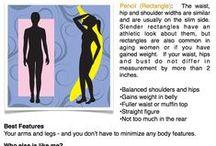 Tips & Trick (H/Banana Body Shape Woman)