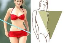 inverted triangle/strawberry body shape