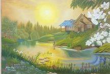 Oil Painting (By Neşet Anbar)