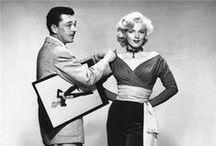 """William Travilla / Diseñador americano de vestuario en cine, teatro y televisión. Fue diseñador de cabecera de Marilyn Monroe. Logró un oscar por el vestuario de """"Las aventuras de Don Juan"""" (1959), de Errol Flynn."""