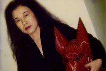 """Eiko Ishioka / Diseñadora japonesa, conocida por su trabajo en """"Drácula, de Bram Stoker"""" (1992) por el que logró un Oscar al mejor vestuario."""