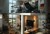 Chic Room Elements / Striking room worth a visit.