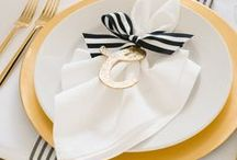 Tablescapes / My favorite place settings and stylings