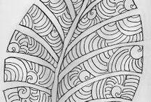 wzory patterns