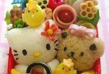 bento + kawaii + food art