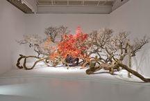 flower arrangement + ikebana + bonsai +