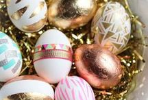 EASTER / EASTER DECOR-ORNAMENTS-IDEAS