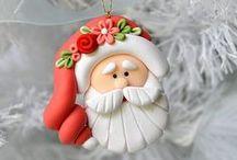 CHRISTMAS / CHRISTMAS DECOR- ORNAMENTS- IDEAS
