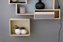 Interior styling / Pic hanging, shelving & display