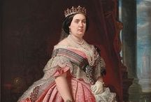 Monarquía española - siglo XIX / Monarcas españoles en el siglo XIX / by Enrique Gil y Carrasco